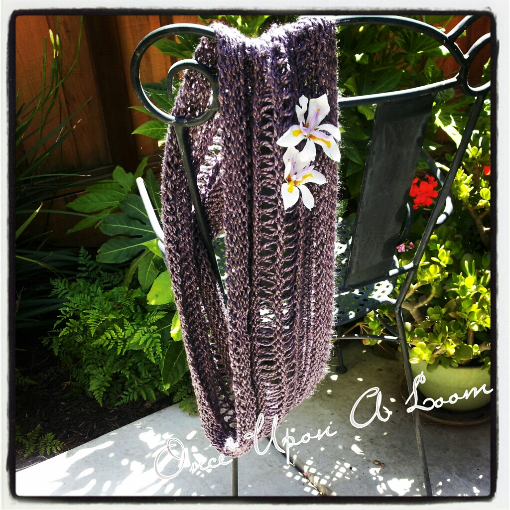 Looming A Scarf For Beginners