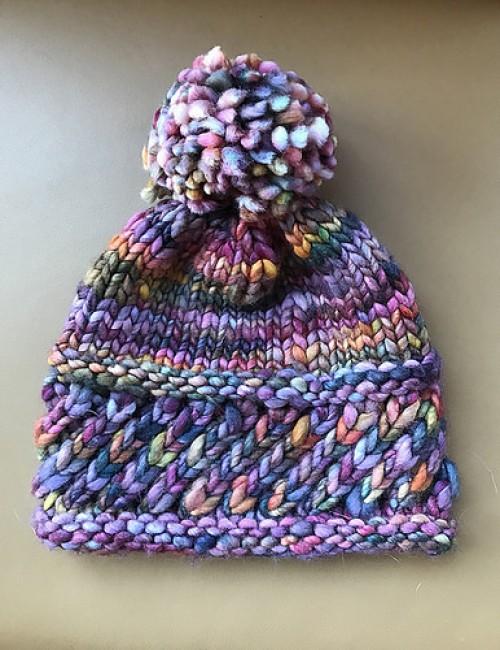 Perky Little Knit Hat - Free Pattern