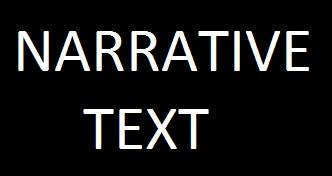 contoh narative text