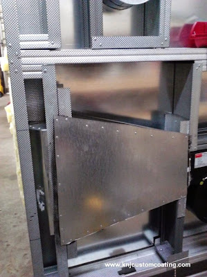 powder coating oven blower duct