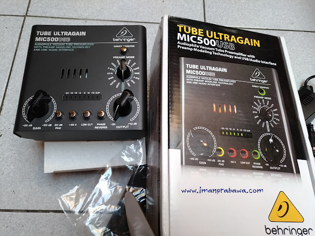Review Behringer MIC500USB Bahasa Indonesia