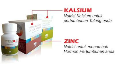 Suplemen Obat Peninggi Badan Tiens