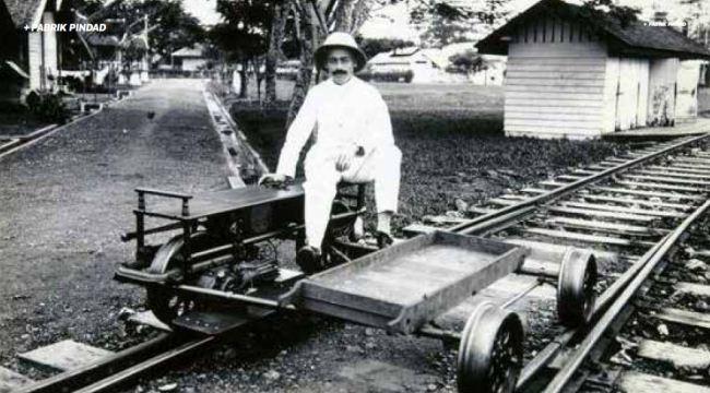 Rel kereta api Pindad