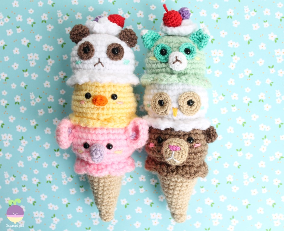 Summer Crochet Amigurumi Patterns - Super Cute Kawaii!! | 768x943