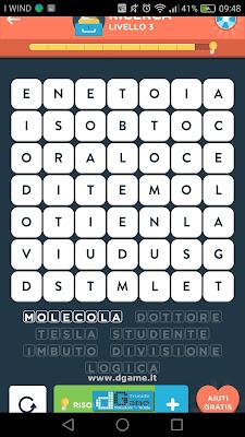 WordBrain 2 soluzioni: Categoria Ricerca (7X7) Livello 3