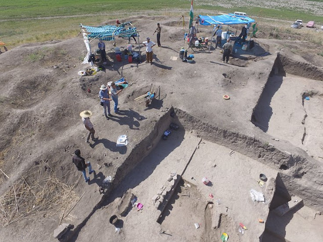 Riddles in time and space: Excavations at the settlement mound Gird-i Shamlu in Iraqi Kurdistan
