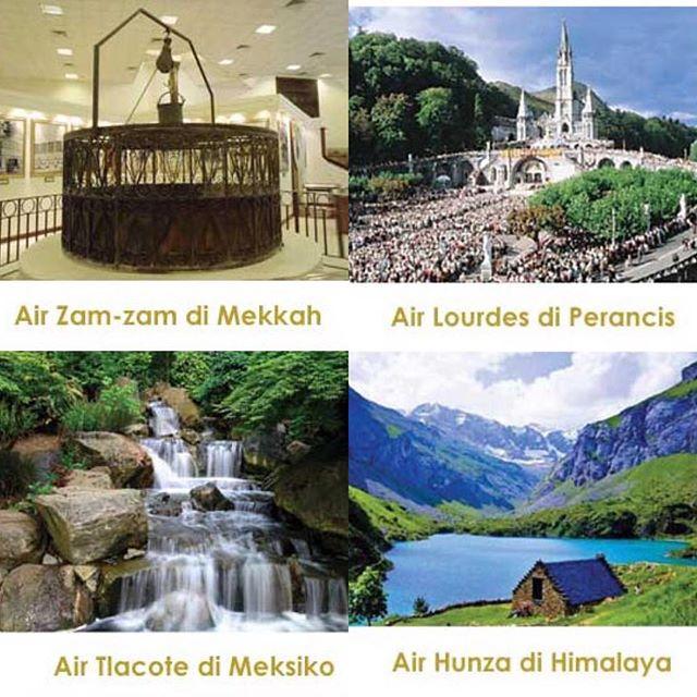 Air Zam-zam, Air Lourdes, Air Hunza, dan Air Tlacote