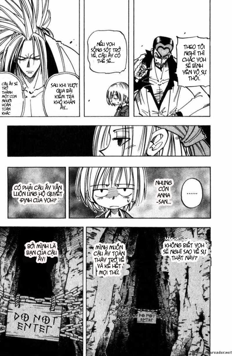 Shaman King [Vua pháp thuật] chap 51 trang 14