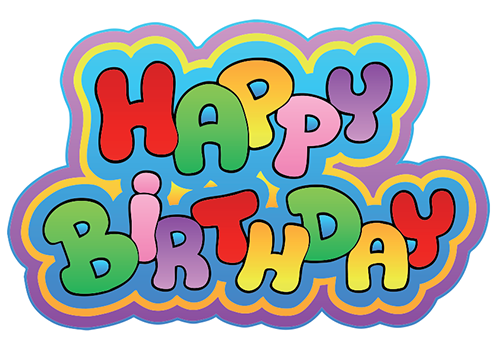 Colorful Happy Birthday Facebook Symbols And Chat Emoticons