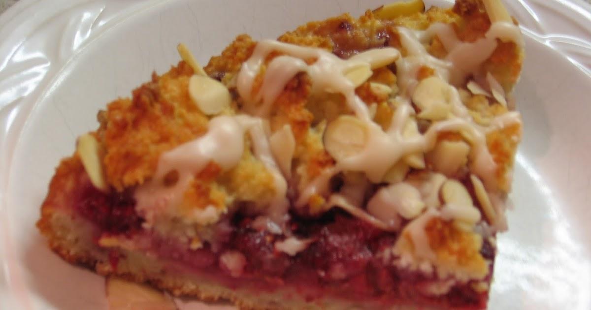 Raspberry And Almond Cake Recipe