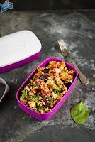 Dwupoziomowy lunchbox MyBento