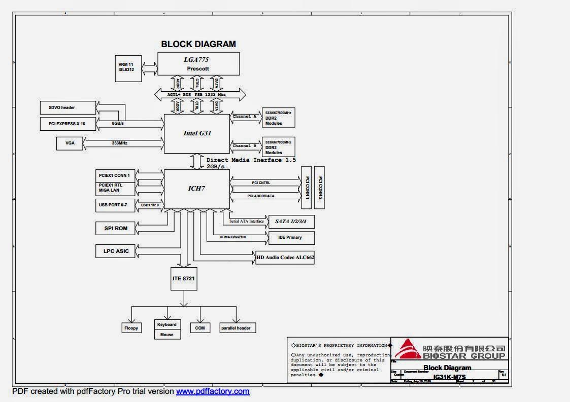 Schematic Biostar Ig41m M7s V6 1 Rev 6 1