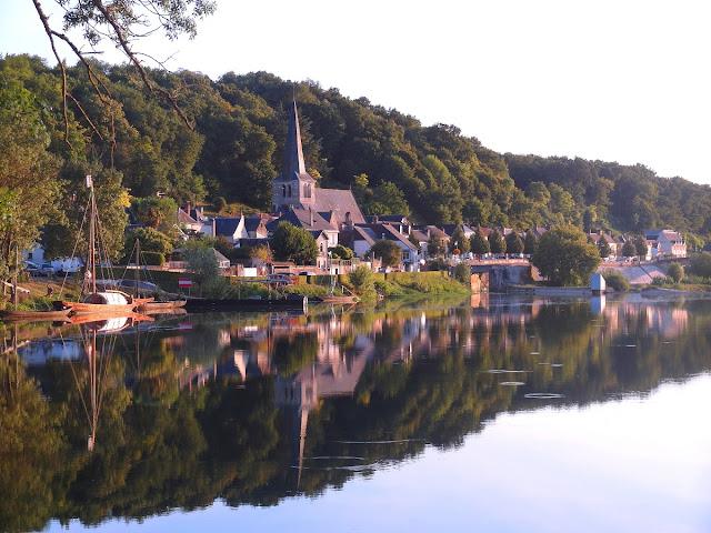 Loiredalen i Frankrike