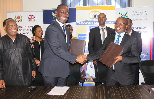 TRADEMARK EAST AFRICA AND CENTRAL CORRIDOR TRANSIT TRANSPORT FACILITATION AGENCY SIGN FINANCING AGREEMENT
