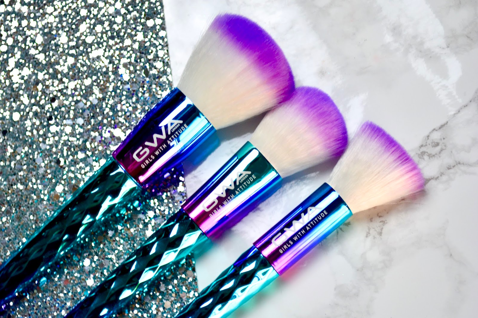 Girls With Attitude Mermaid Brushes