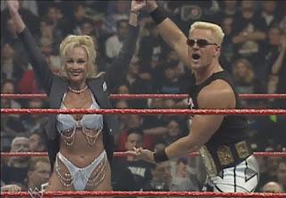 WWE / WWF Wrestlemania 15: Jeff Jarrett w/ Debra