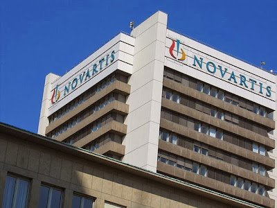 Novartis Headquarters in Basel Switzerland