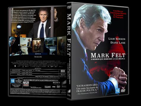 Capa DVD Mark Felt O Homem que Derrubou a Casa Branca [Exclusiva]