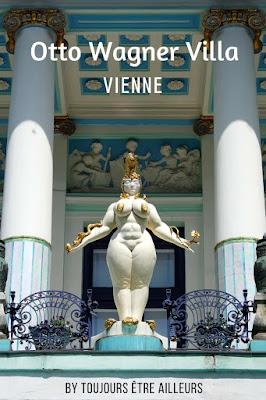 La Villa Otto Wagner, abritant le musée Ernst Fuchs, est un véritable bijou d'art nouveau où se fonde harmonieusement le travail du peintre (Vienne, Autriche) http://www.toujoursetreailleurs.com/2016/09/vienne-otto-wagner-villa.html