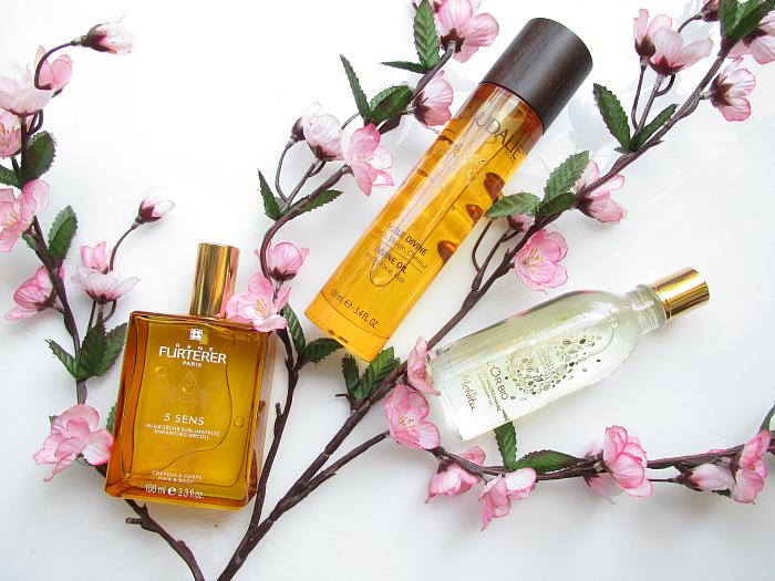 3 Pflanzliche Beauty Öle für Haar & Haut - Caudalie, René Furterer, Melvita