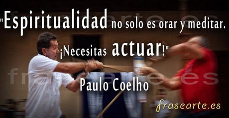 Frases espirituales de Paulo Coelho