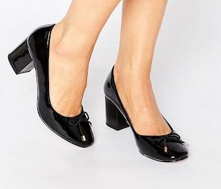 ASOS, shaken, heels, block heel,