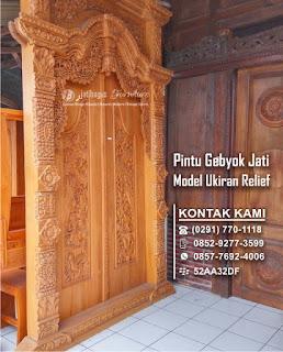 Galeri Gebyok Ukir Jati 2018