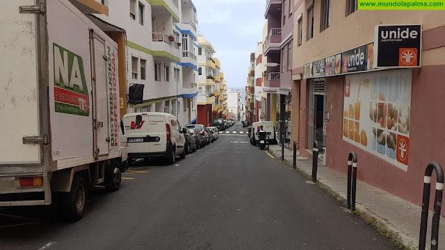 El Ayuntamiento de Santa Cruz de La Palma acomete las obras de renovación de la red de abastecimiento de aguas de la Calle Cruz Roja