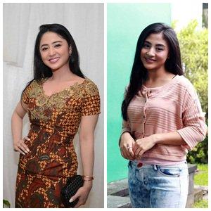 Foto-Foto Manis Margin Wieheerm, Bintang Sinetron Yang Dibilang Kembaran Dewi Perssik