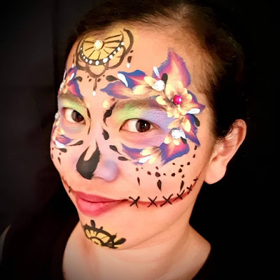 t take a decision whether to make a clown or a sugar skull 19+ Cute And Easy Sugar Skull Makeup Tips For Halloween