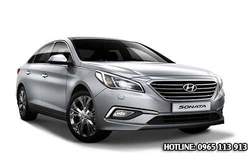 NGoại thất Hyundai Sonata 2016 Hải Phòng