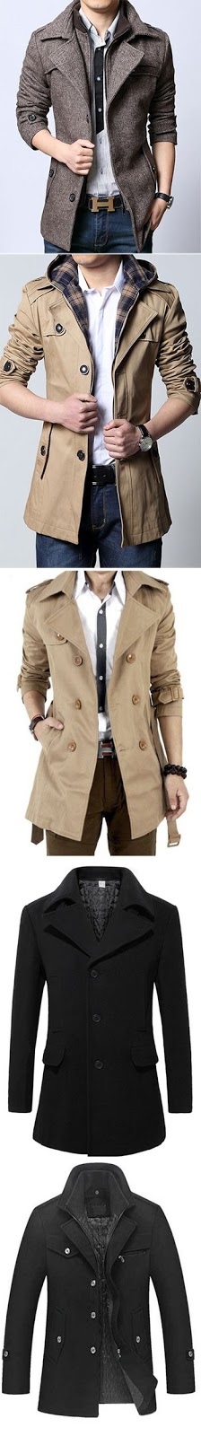 Men's Coats and Jackets.Fashion Picked for you