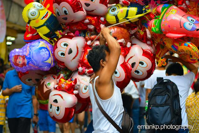 CHINATOWN PHOTOWALK 2016: Balloon man