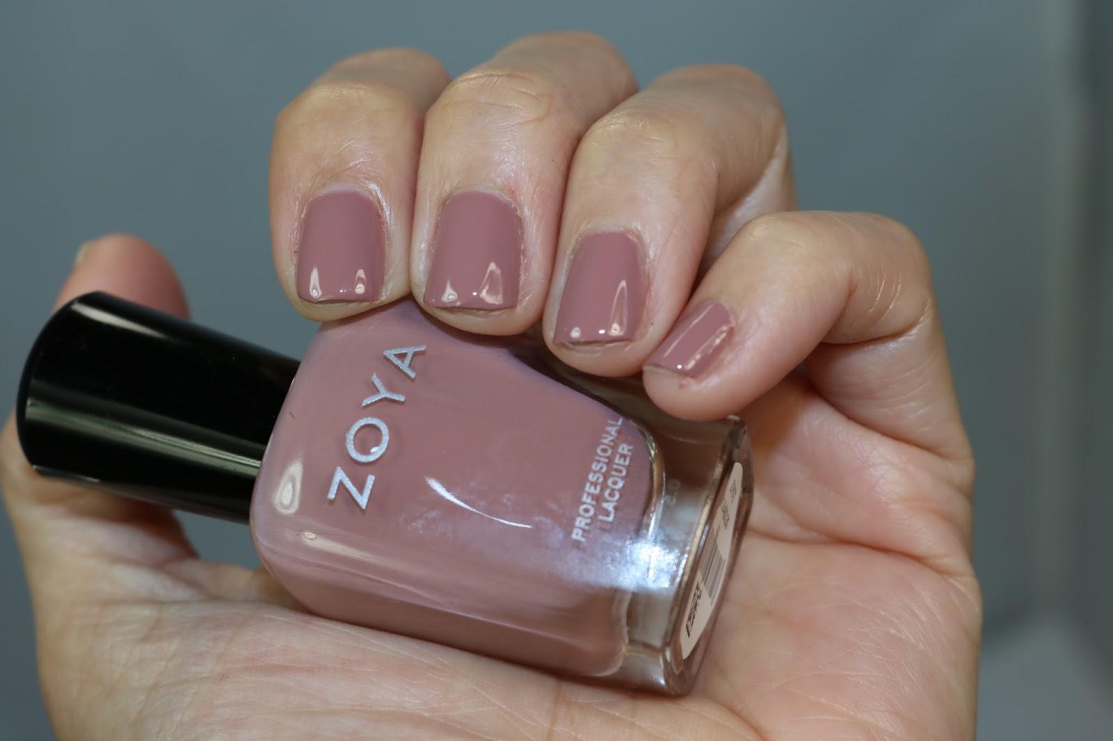 Zoya NAKED MANICURE - No polish polish / Polished Polyglot