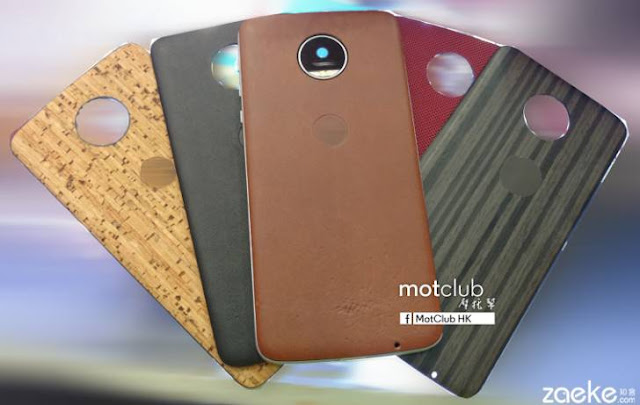 Moto Z Leaked Pictures