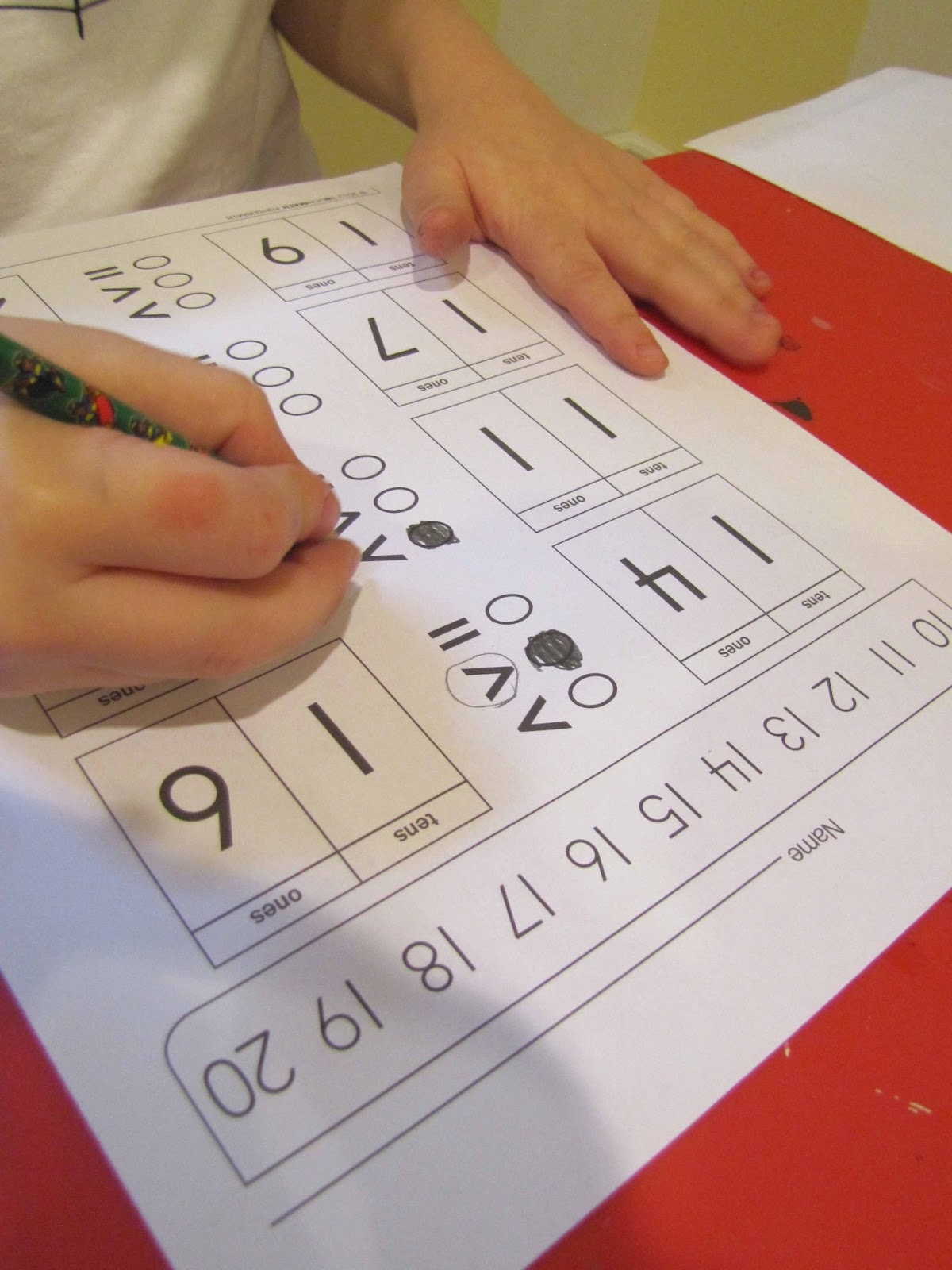 Touchmath 1st Grade Review