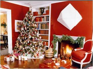 cómo adornar un rincón de la sala en navidad