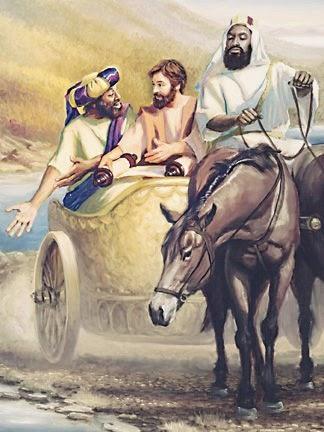 Estudio Biblia Hechos 8 25 40 Felipe Y El Etíope
