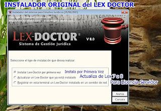 lex doctor,lex doctor,descargar lex doctor,instalar lex doctor,comprar lex doctor,lex doctor full,activar lex doctor CHAVEZ Computacion