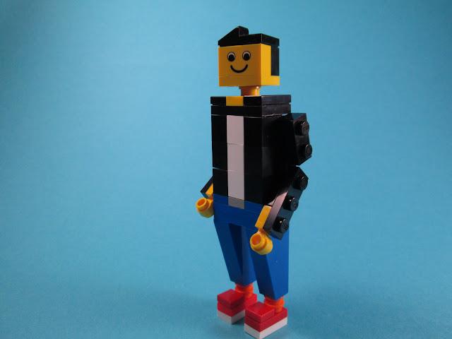 MOC LEGO figura humana