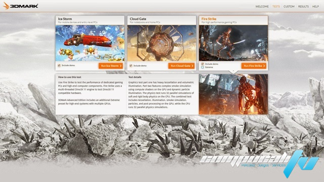 3DMark Version 1.4.780 Professional Edition