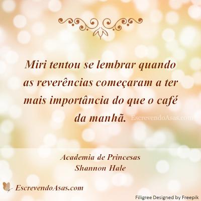 Academia de Princesas, Shannon Hale
