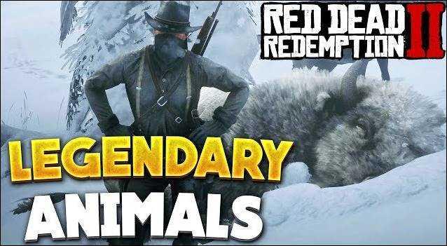 Lokasi Legendary Animal RDR 2