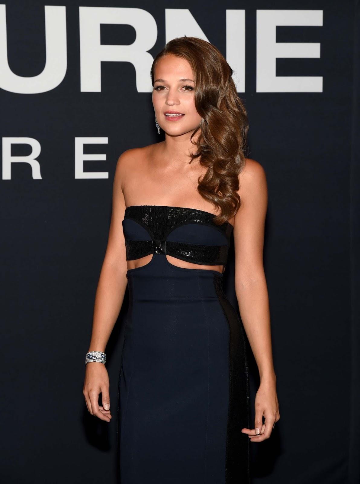 Alicia Vikander – 'Jason Bourne' Las Vegas Film Premiere