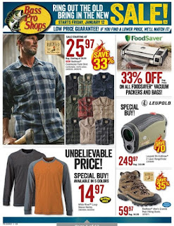 Bass Pro Shops Flyer Canada January 12 - 28, 2018