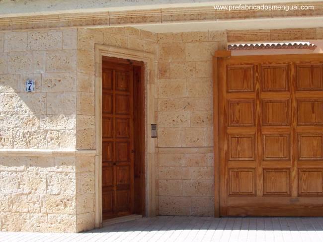 Arquitectura de casas dise os de casas hechas de piedra - Piedra artificial para fachadas ...
