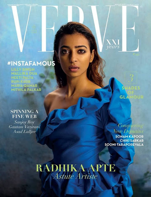 Radhika Apte Photo-Shoot - Verve India - August 2017