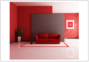 warna cat ruang tamu menurut feng shui merah