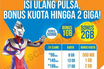 Promo BOLT Isi Pulsa Di Indomaret Dapat Bonus Kuota 2 GB