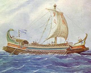 Barco romano - Derecho romano